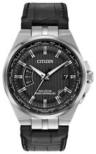 Citizen Eco-Drive Men's A-T World Time Perpetual Calendar 42mm Watch CB0160-00E