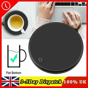 UK USB Silicone Heating Coaster Warmer Electric Insulation Mug Cup Mat