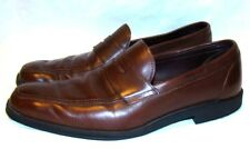 ALLEN EDMONDS Men's Shoes GEORGETOWN Brown Leather Penny Loafers MADE IN USA 9 B