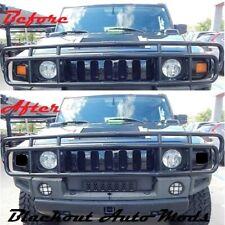 H2 Hummer Turn Signal Blackout Kit SUT SUV Blackouts Smoked