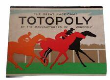 Vintage Waddingtons Totopoly Horse Racing Game 1949 - Small Box Version No Board