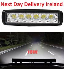 18W 6LED Daytime Bar Beam Spot Light Work Light Off-Road SUV 4WD Car Truck Auto