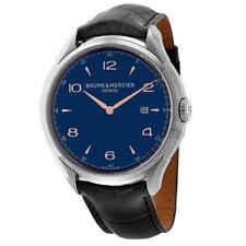 Baume et Mercier Clifton Date Blue Dial 45 mm Men's Watch 10420