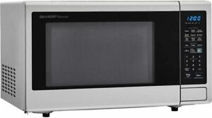 Sharp SMC1442CS Carousel 1.4 Cu. Ft 1000W Microwave Oven (Certified Refurbished)