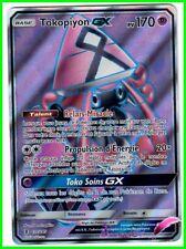 Carte Pokemon TOKOPIYON GX GARDIENS ASCENDANTS PV170 137/145 ULTRA RARE HOLO VF