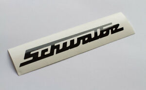 Simson Schwalbe Schriftzug, KR51/2 KR51/1 für Knieblech SCHWARZ DDR IFA Diamant