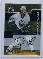 2001-02 BAP Signature Series Autographs Gold #115 Ryan Smyth Auto Oilers