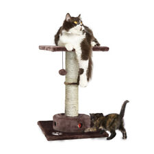 Tiger Tough Cat Tree Tower Playground Scratching Post with Cat-IQ Busy Box
