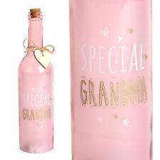 sentiments - étoile Pile Lampe allumer bouteille - Spécial grand-mère