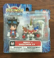 Digimon Fusion - two pack action figure (Mikey + Shoutout)  Vintage NIP