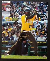 Josh Bell Signed Auto 16x20 Photo Gold Ink Autographed JSA COA Pirates Nationals