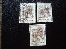 DANEMARK - timbre yvert et tellier n° 674 x3 obl (A33) stamp denmark (A)