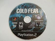 Cold Fear (Sony PlayStation 2, 2005) disc only