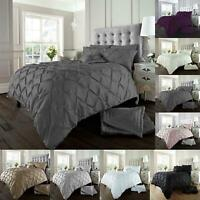 Alford Bedding Set Duvet Cover Single Double Super King Size Quilt Quilt Ruched
