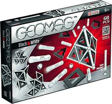 Geomag Black and White Magnetic Construction 68pcs Toy Gift Set