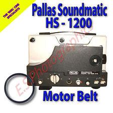Pallas Soundmatic HS 1200 8mm CINE PROIETTORE Belt (motore principale Cintura)