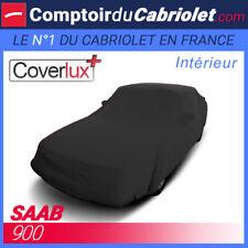 Housse Coverlux+ sur-mesure noire pour Saab 900