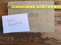 Beau CARNET De 42 DESSINs 1988 Aquarelle Craie Grasse Et Encre Paysage