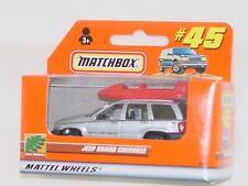 MATCHBOX WINDOW BOX 2001 #45 JEEP GRAND CHEROKEE