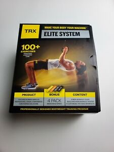 TRX - Fit System Suspension Trainer - Black/Yellow NEW OPEN BOX READ