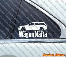 Lowered WAGON MAFIA sticker - for Subaru Legacy BH (1999-2003) jdm