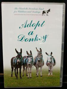 Used Adaopt A Donkey DVD Elisabeth Svendsen Trust Chilren & Donkeys M25-AA