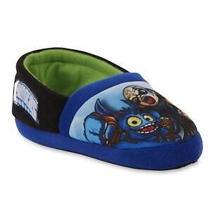 Universal Studios Skylanders Boys Blue Slippers - Toddler Size 9