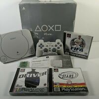 Sony PS One Console / PS1 SCPH-102B With 3 Games & Controller Boxed PSone