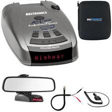 Beltronics RX65 Red Professional Series Radar/Laser Detector w/ Mirror Mount Kit