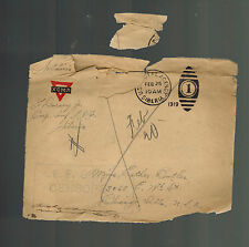 1919 US Army Soldier Cover AEF Siberia Russia Allied Expeditionary Force letter