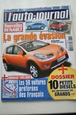 AUTO JOURNAL 679 LOGAN GOLF R32 Q7 PORSCHE 911 PASSAT KIA RIO ML 350 M6 S60 2005