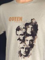 Queen Rock Band T Shirt Freddie Mercury Bohemian Rhapsody Classic Retro Tee