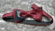 Fliege Krawatten schleife Dracula Fledermaus Vampir Humor Vintage 80er Witz TOP