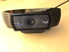 Logitech C920 HD Pro Webcam (Full hd 1920x1080 Auflösung)