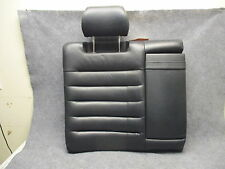 2000-2002 Audi S4 Sedan Back Seat RH Upper Section w/Headrest Onyx Leather 27544