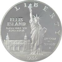 1986 S $1 Statue of Liberty Commemorative Silver Dollar US Coin Choice Proof