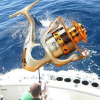 Fishing Reel Left/Right Saltwater Freshwater Spinning Reels 12BB Ball Bearings