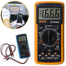 Dt9205a Lcd Digital Multimeter Voltmeter Ammeter Tester Resistance Acdc Meter