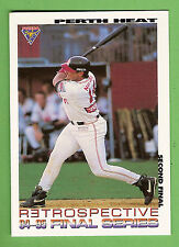 1995 AUSTRALIAN BASEBALL CARD #105 , RETROSPECTIVE, PERTH  HEAT