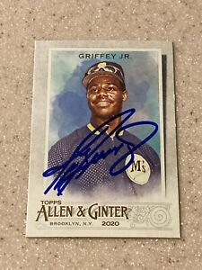 2020 Allen and Ginter signed Ken Griffey Jr