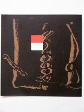 BROTO José Manuel carton vernissage Gal. Maeght 1989 Peintre aragonais Zaragoza