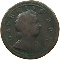 GREAT BRITAIN HALFPENNY 1723 GEORGE I. #s21 693