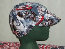 Captain America: Red's American Made Welding, Biker,Hat, Skull,Cap $ 7.50 lmited