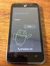 ZTE Majesty Z796C - 4GB - Black (Straight Talk) Smartphone