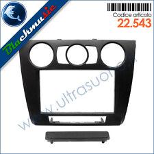 Kit mascherina montaggio autoradio 2DIN Bmw serie 1 E81 (dal 2007) clima manuale