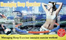 Pro Hula Hoop Weighted Magnetic Massager Fitness Exercise Massager Work Gift