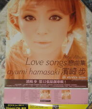 Japan Ayumi Hamasaki Love Songs Taiwan Promo Poster