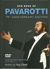 DVD &  BOOK OF PAVAROTTI 75TH ANNIVERSARY EDITION - LIVE IN BARCELONA - NEW