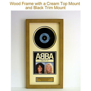 """7"""" Vinyl Record – Framed – UK No. 1 'On The Day You Were Born – GREAT GIFT"""