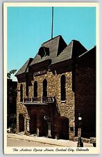 The Historic Opera House in Central City, Colorado Chrome Postcard Unused